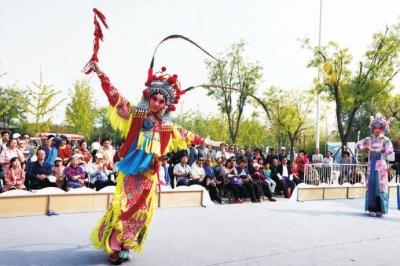 中国戏曲文化周在北京丰台园博园成功举办