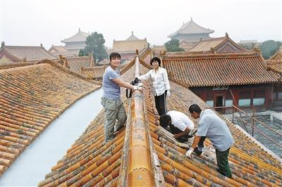 故宫百年规模最大的第三次修缮 修复讲究到每一颗钉子